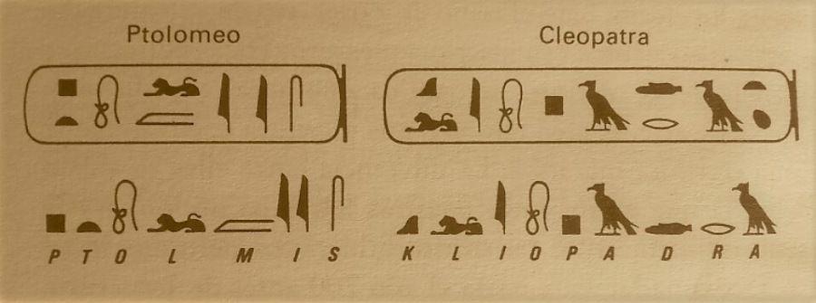 jeroglífico-cleopatra-tolomeo